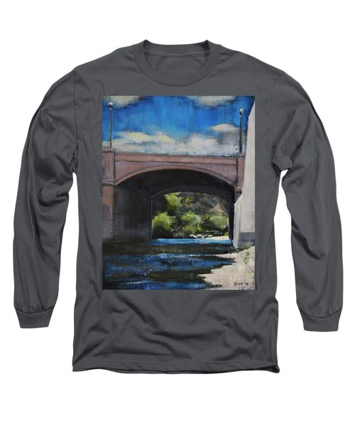 Glendale Bridge Long Sleeve T-Shirt by Richard Willson