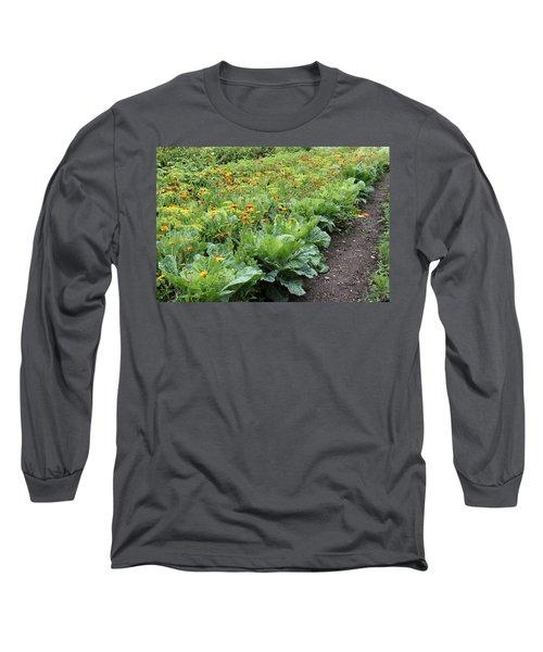 Glenveagh Castle Gardens 4276 Long Sleeve T-Shirt