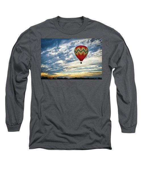 Gliding Through Sunset Long Sleeve T-Shirt