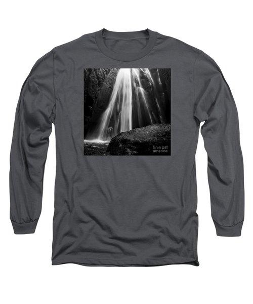 Gljufrabui Iceland Long Sleeve T-Shirt by Gunnar Orn Arnason