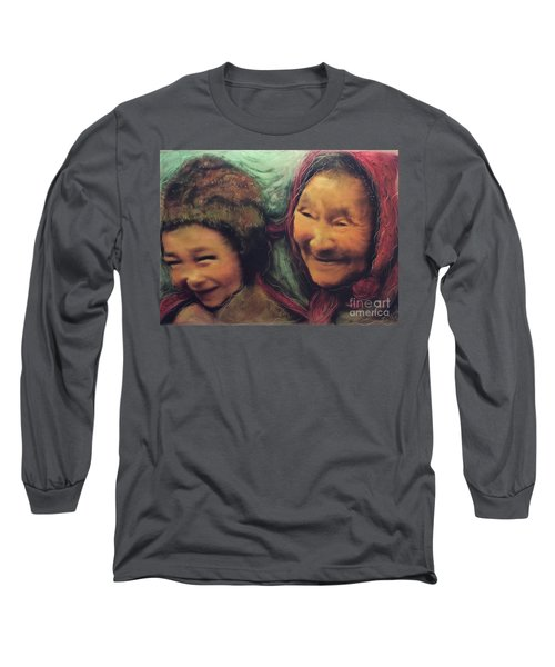 Global World Of Love And Compassion Long Sleeve T-Shirt