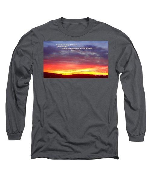 Glory And Praise  Long Sleeve T-Shirt
