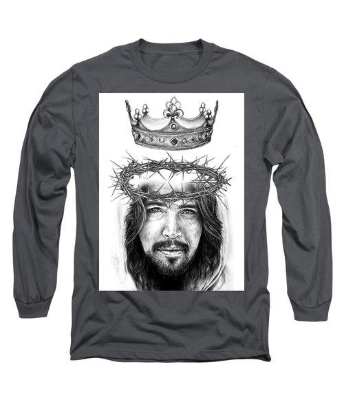Glory To The King Long Sleeve T-Shirt