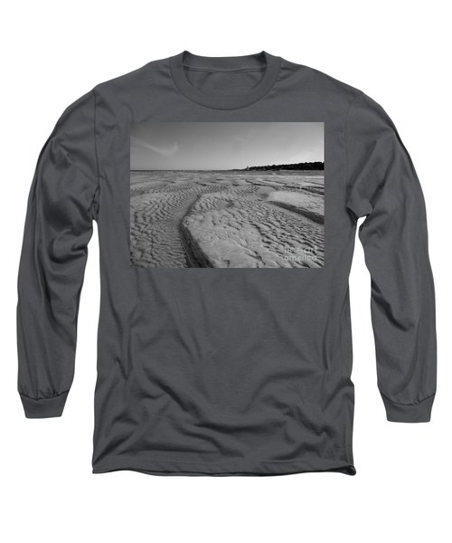 Gloucester Lighthouse Monocrhome Long Sleeve T-Shirt