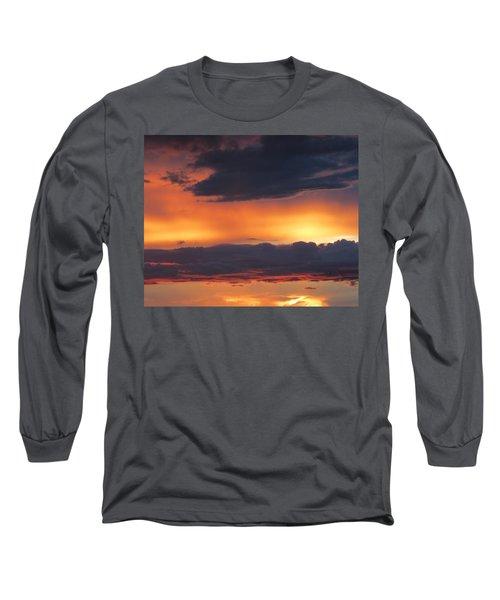 Glowing Clouds Long Sleeve T-Shirt
