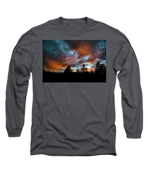 Glowing Mists Long Sleeve T-Shirt