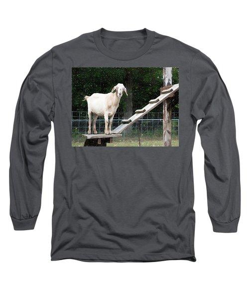 Goat Smile Long Sleeve T-Shirt