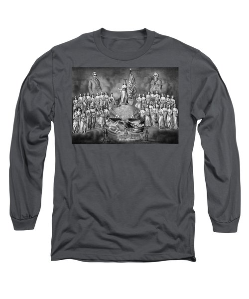 God Liberty And Constitutional Rights Long Sleeve T-Shirt