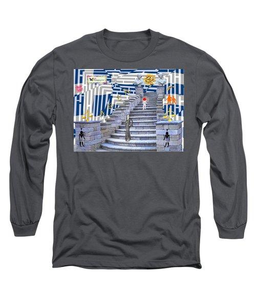 Goddess Enters Long Sleeve T-Shirt