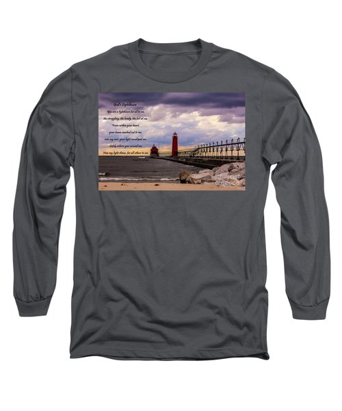 God's Lighthouse Long Sleeve T-Shirt
