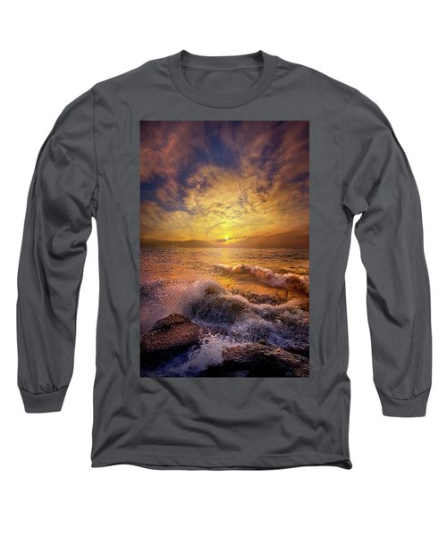 Long Sleeve T-Shirt featuring the photograph Gods Natural Cure by Phil Koch