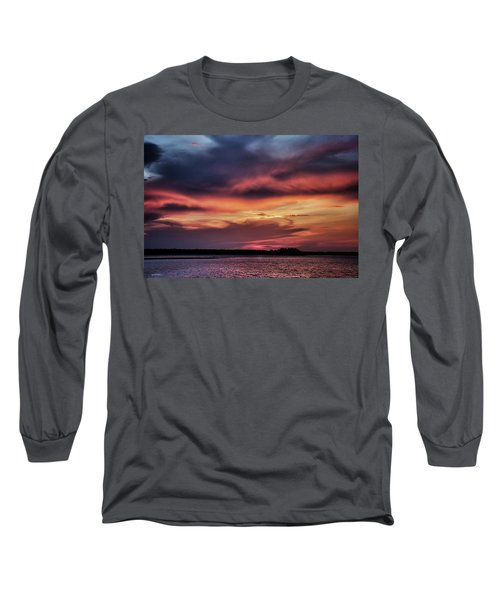 Long Sleeve T-Shirt featuring the photograph God's Paintbrush by Phil Mancuso