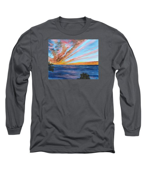 God's Magic On The Key Long Sleeve T-Shirt by Lloyd Dobson