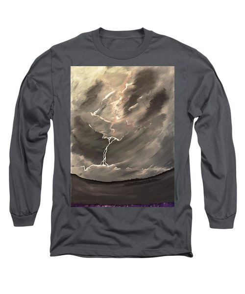 Going Down A Storm Long Sleeve T-Shirt