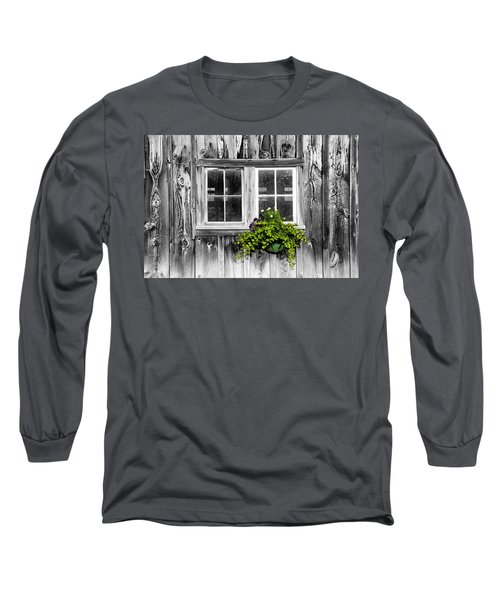 Going Green Long Sleeve T-Shirt by Greg Fortier