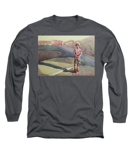 Coming Home Long Sleeve T-Shirt by Becky Kim