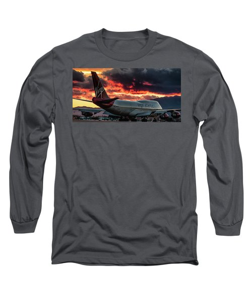 Long Sleeve T-Shirt featuring the photograph Going Home by Michael Rogers
