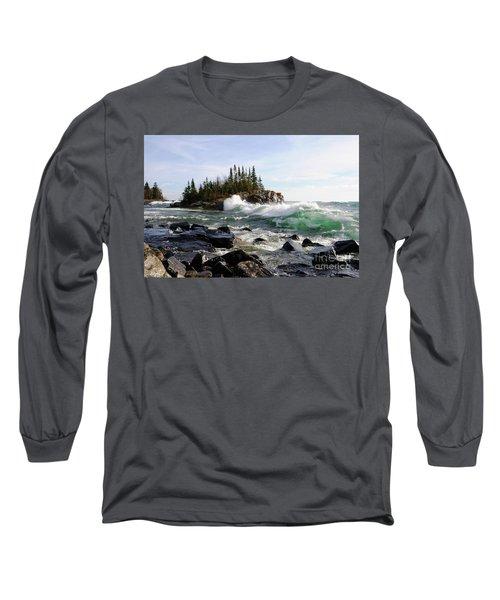 Going Wild Long Sleeve T-Shirt by Sandra Updyke
