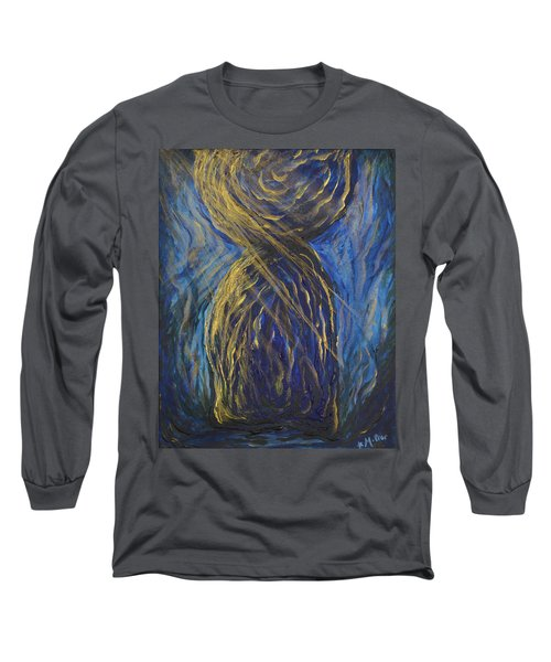 Gold And Blue Latte Stone Long Sleeve T-Shirt