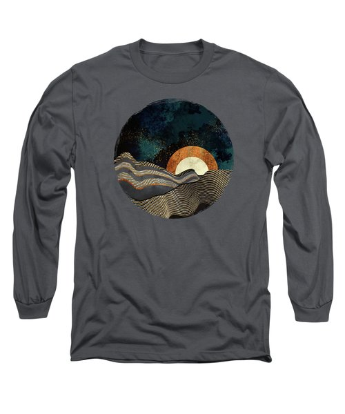 Gold And Silver Fields Long Sleeve T-Shirt