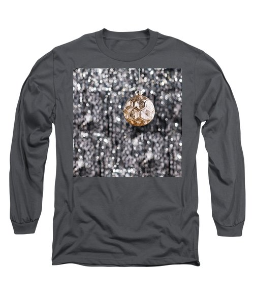 Long Sleeve T-Shirt featuring the photograph Gold Christmas by Ulrich Schade