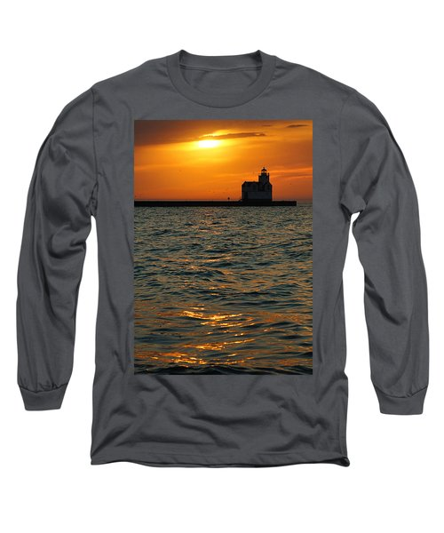 Gold On The Water Long Sleeve T-Shirt