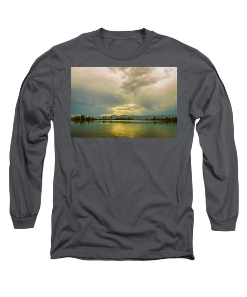 Long Sleeve T-Shirt featuring the photograph Golden Afternoon by James BO Insogna