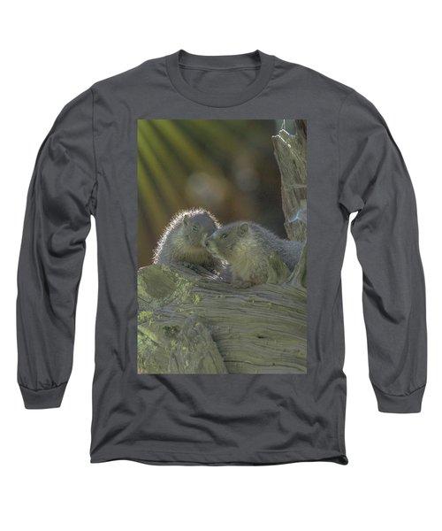 Golden Bellied Marmot Long Sleeve T-Shirt