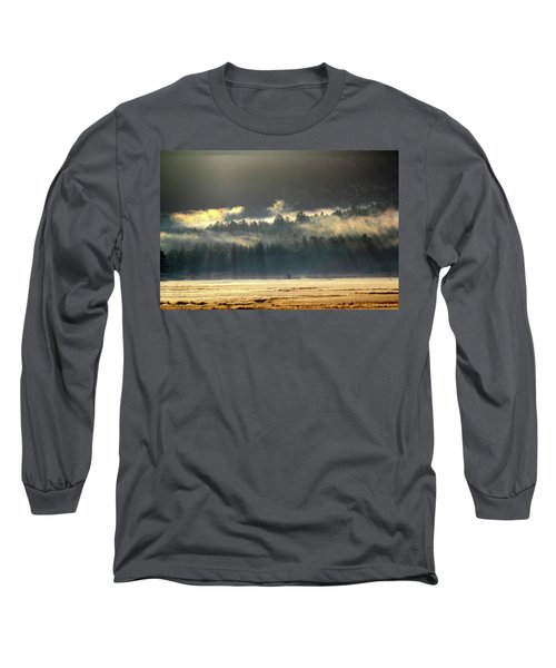 Golden Fog Long Sleeve T-Shirt