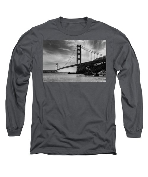Golden Gate East Bw Long Sleeve T-Shirt