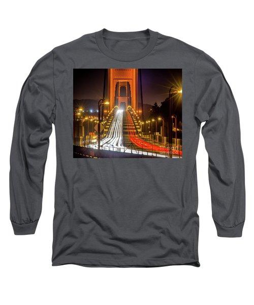 Golden Gate Traffic Long Sleeve T-Shirt