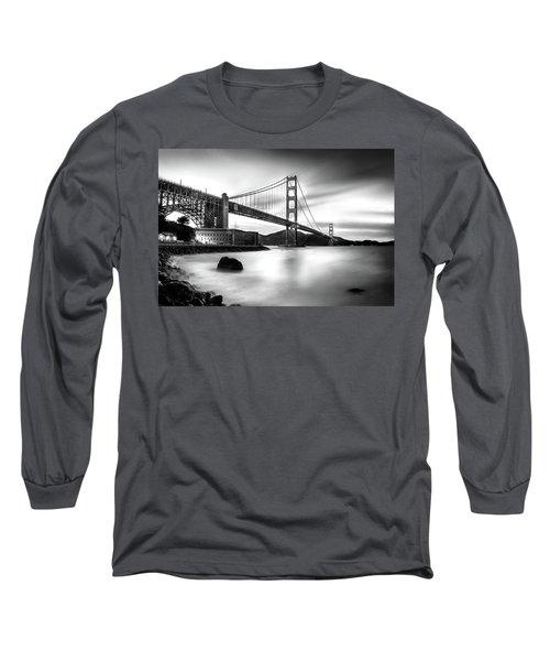 Golden Gateway Bw Long Sleeve T-Shirt
