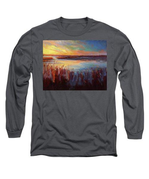Golden Marsh Long Sleeve T-Shirt