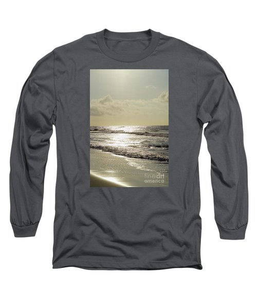 Golden Morning At Folly Long Sleeve T-Shirt by Jennifer White