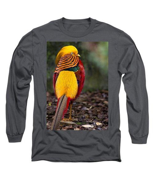 Golden Pheasant Long Sleeve T-Shirt