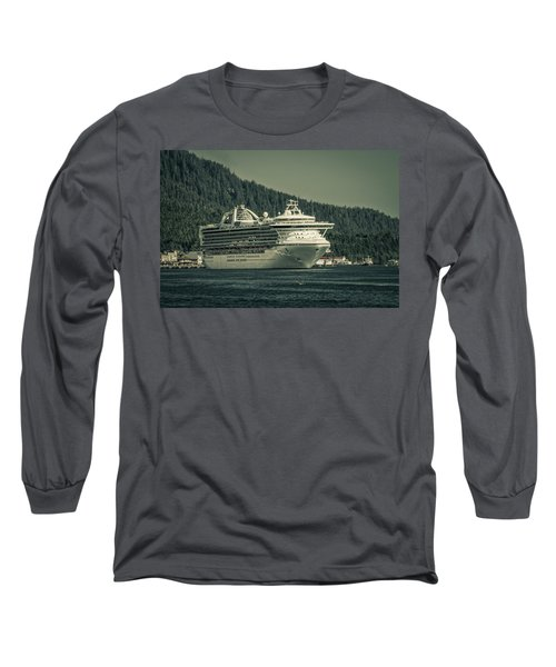 Long Sleeve T-Shirt featuring the photograph Golden Princess  by Timothy Latta