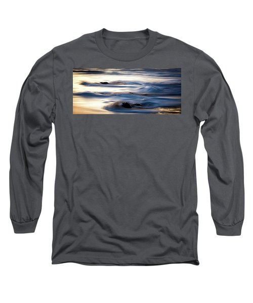 Golden Serenity Long Sleeve T-Shirt