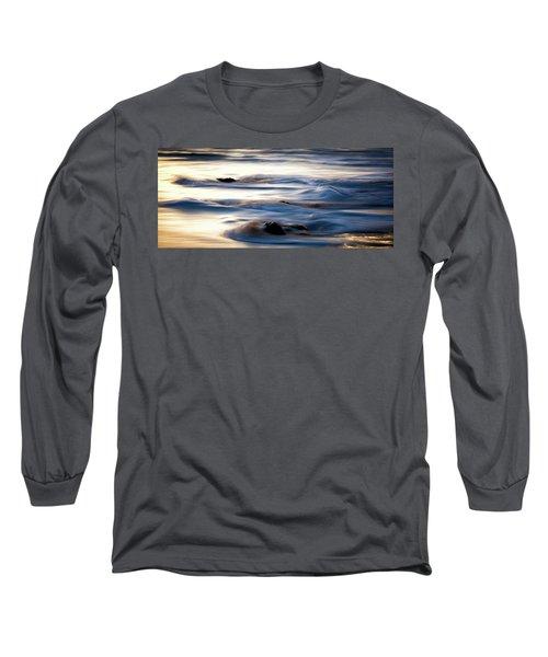 Golden Serenity Long Sleeve T-Shirt