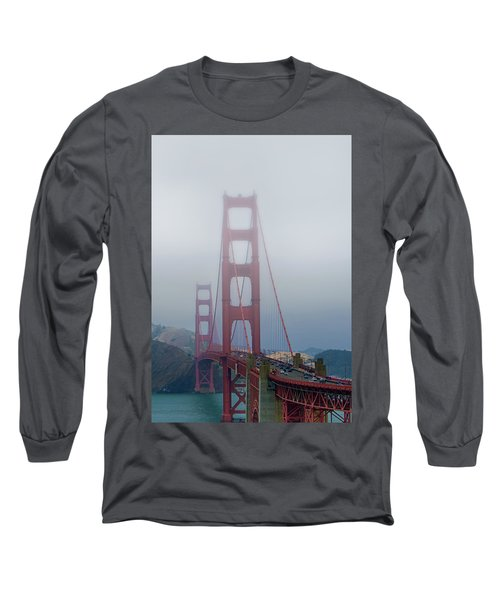 Long Sleeve T-Shirt featuring the photograph Golden State Golden Gate  by Joseph Hollingsworth