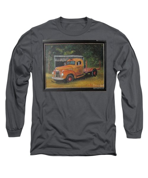 Golden Truck  Long Sleeve T-Shirt