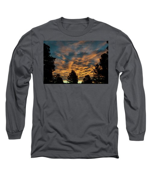 Golden Winter Morning Long Sleeve T-Shirt