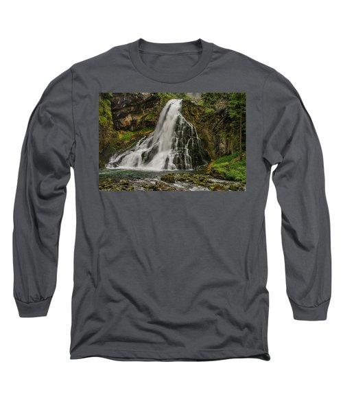 Golling Falls Long Sleeve T-Shirt by Ulrich Burkhalter