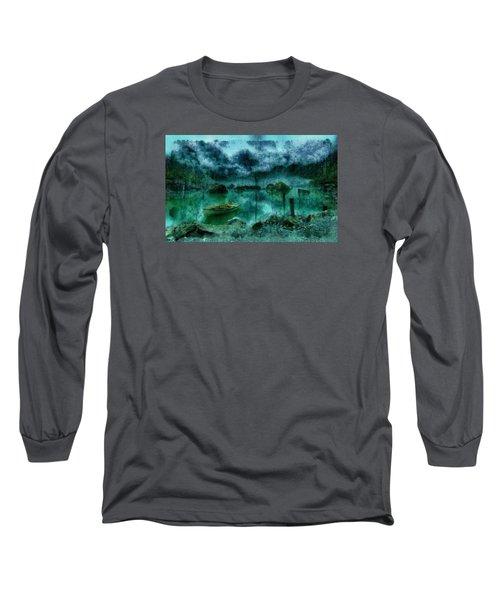 Gollum's Grotto Long Sleeve T-Shirt by Mario Carini