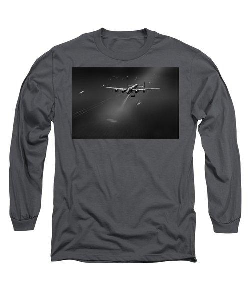 Goner From Dambuster J-johnny Bw Version Long Sleeve T-Shirt