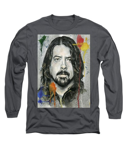 Good Dave Long Sleeve T-Shirt by Nate Michaels