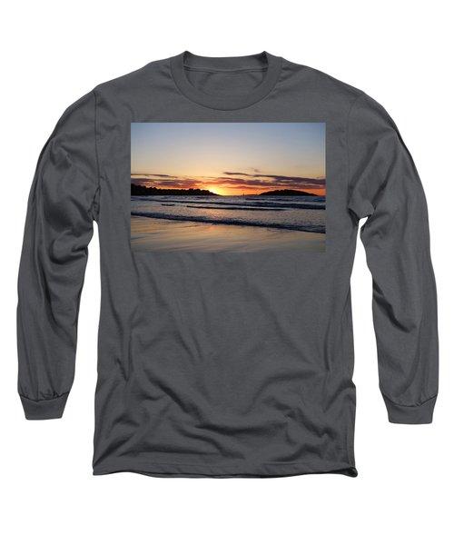 Good Harbor Beach At Sunrise Gloucester Ma Long Sleeve T-Shirt