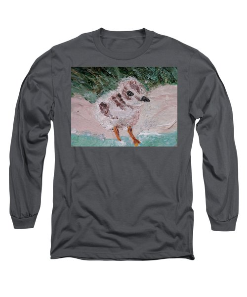 Good Harbor Piping Plover Chick #1 Long Sleeve T-Shirt
