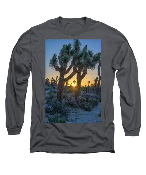 Good Morning From Joshua Tree Long Sleeve T-Shirt
