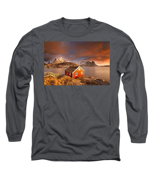 Good Morning Lofoten Long Sleeve T-Shirt
