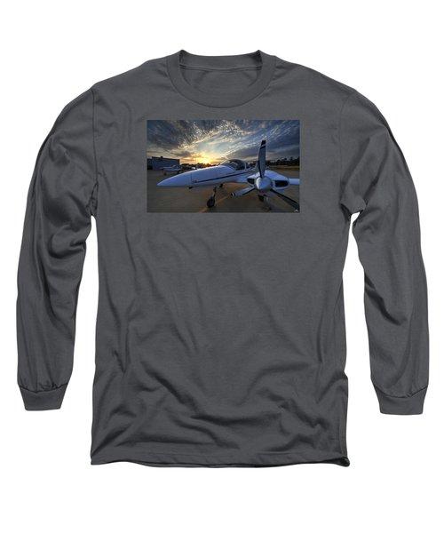Good Morning On The Ramp Long Sleeve T-Shirt